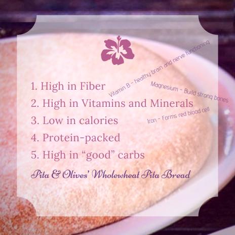 Pita & Olives_ Wholewheat Pita Bread